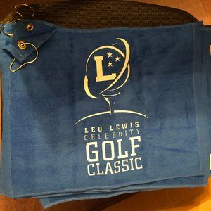 Leo Lewis Celebrity Golf Classic Golf Towel